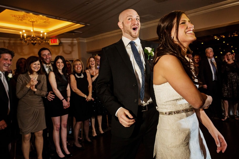 Ramsey Golf and Country Club wedding dance