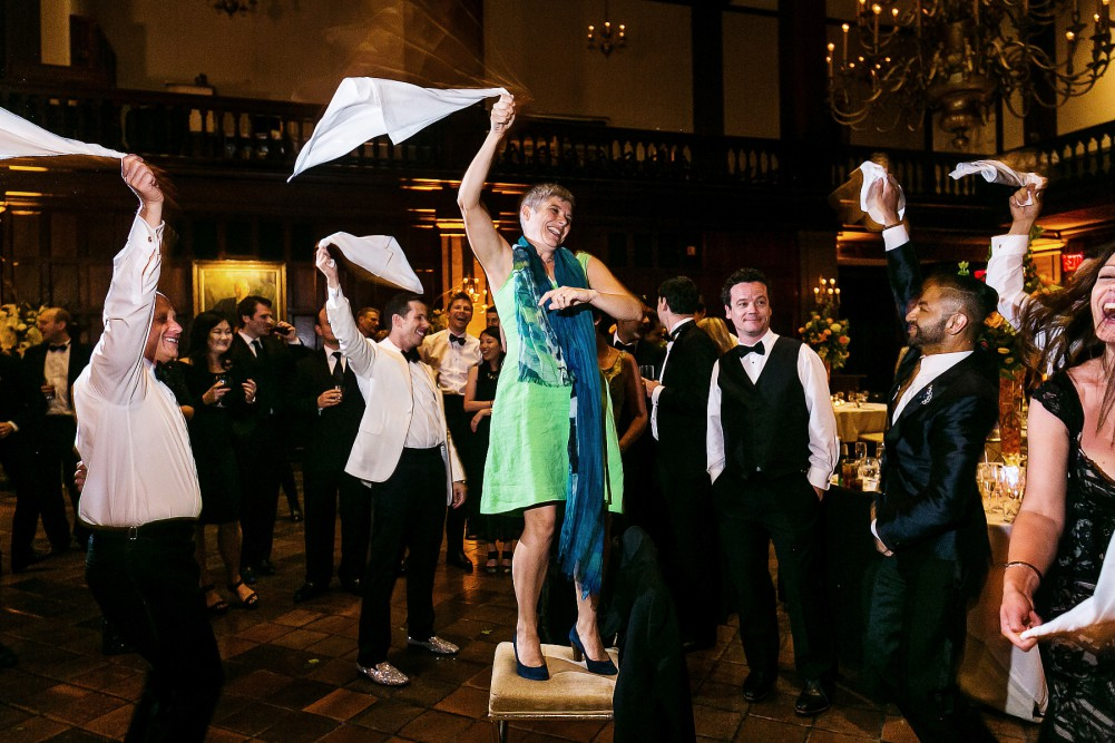 fun harvard club wedding