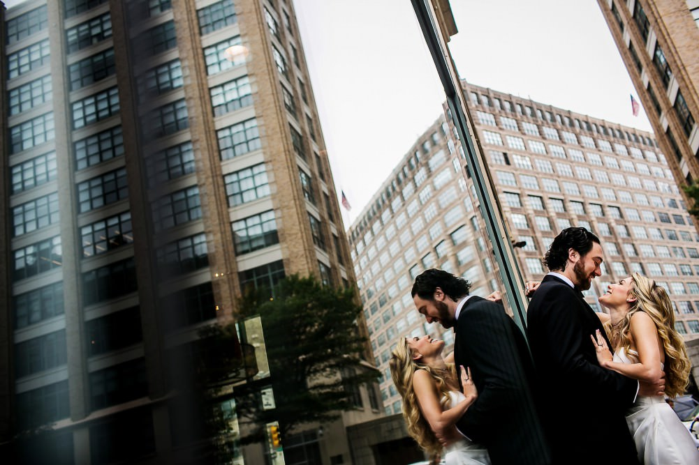 Tribeca Rooftop Wedding Photography