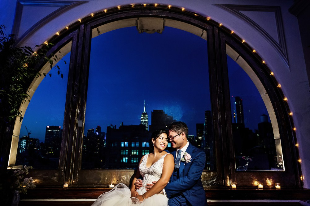 manhattan penthouse wedding