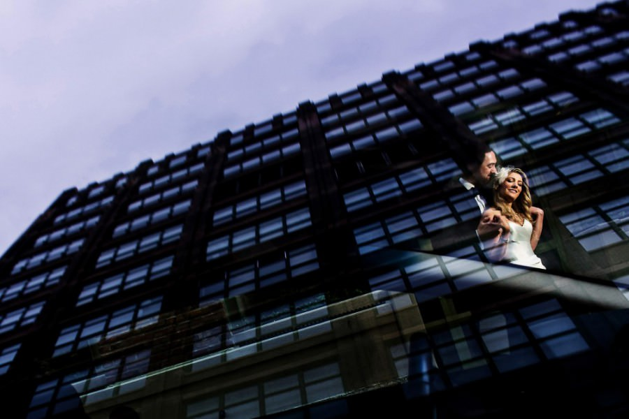 Tribeca Rooftop Wedding Photos