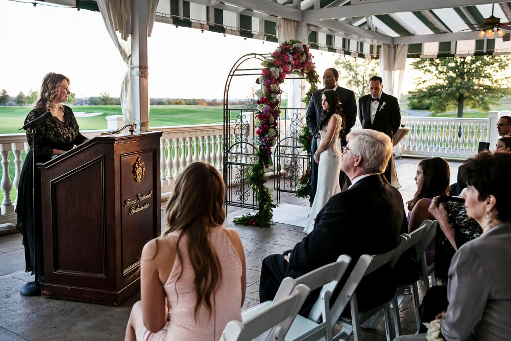A wedding in Trump National Golf Club (Bedminster)